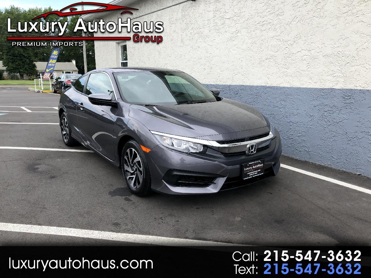Honda Civic Coupe LX CVT 2017