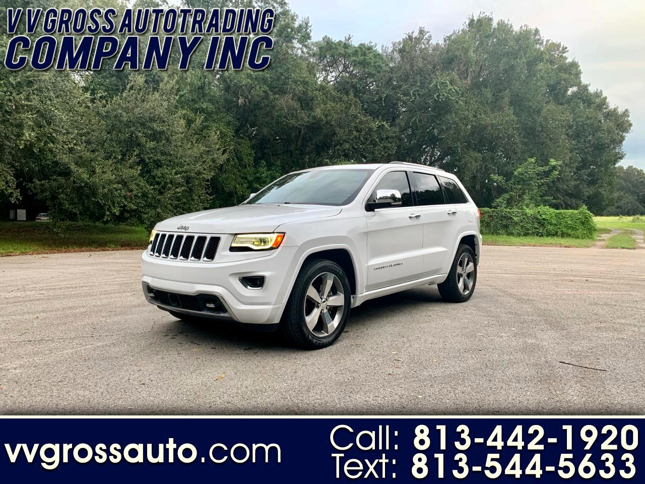 2016 Jeep Grand Cherokee Overland 2WD