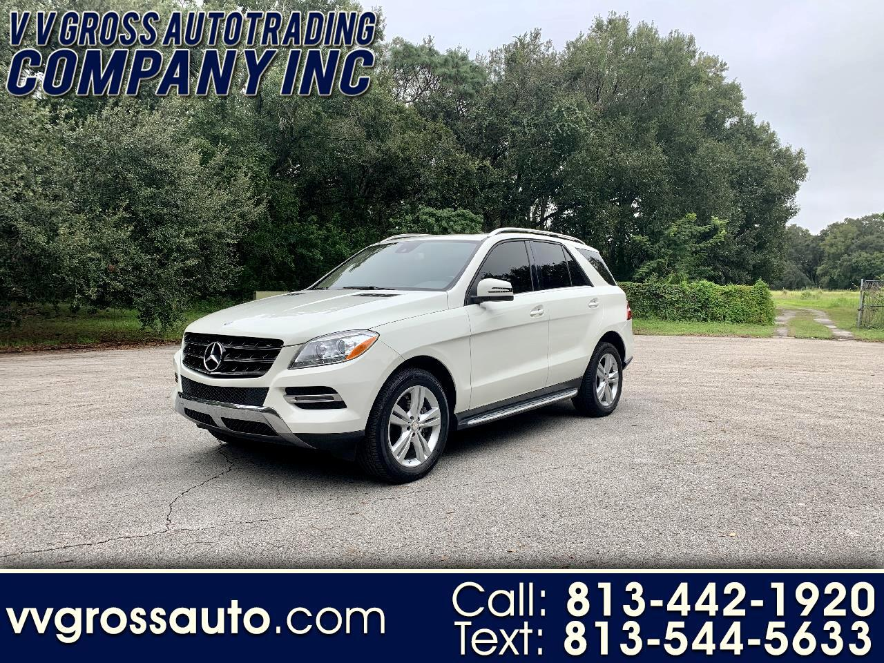 Mercedes-Benz M-Class ML350 BlueTEC 2014