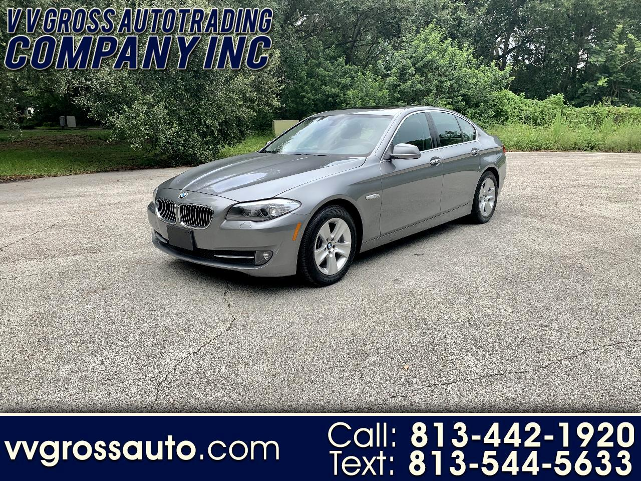BMW 5 Series 4dr Sdn 528i xDrive AWD 2013