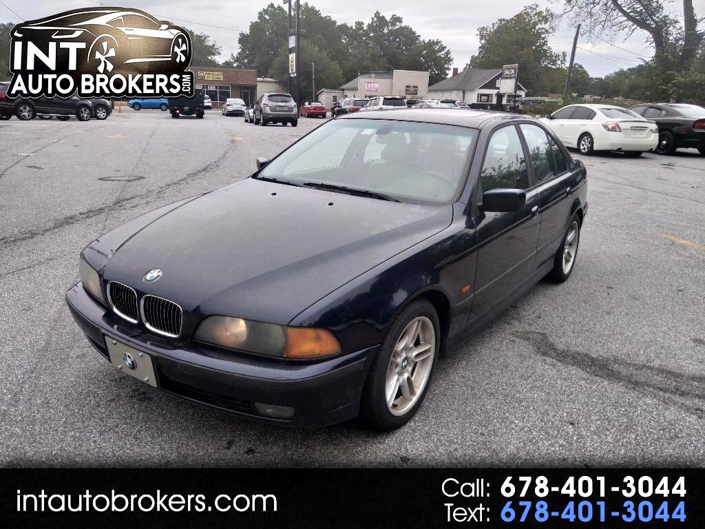 BMW 5-Series 540iA 2000