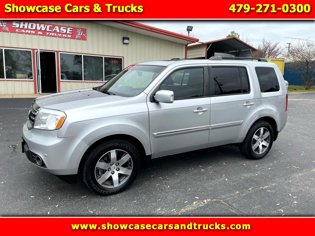 Honda Pilot Touring 2WD 5-Spd AT with DVD 2012