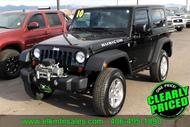 2010 Jeep Wrangler Rubicon 4WD