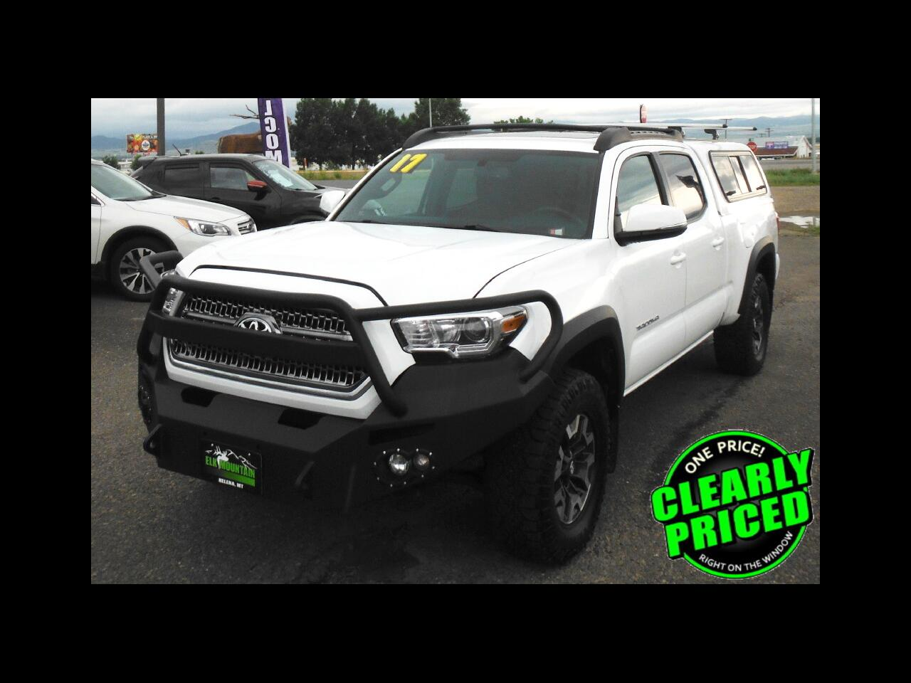 Toyota Tacoma SR5 Double Cab Super Long Bed V6 6AT 4WD 2017