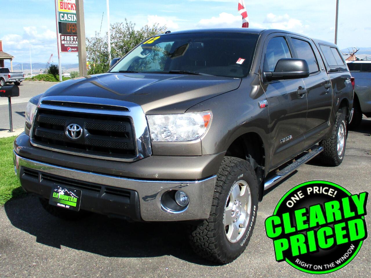 2012 Toyota Tundra Tundra-Grade CrewMax 5.7L 4WD