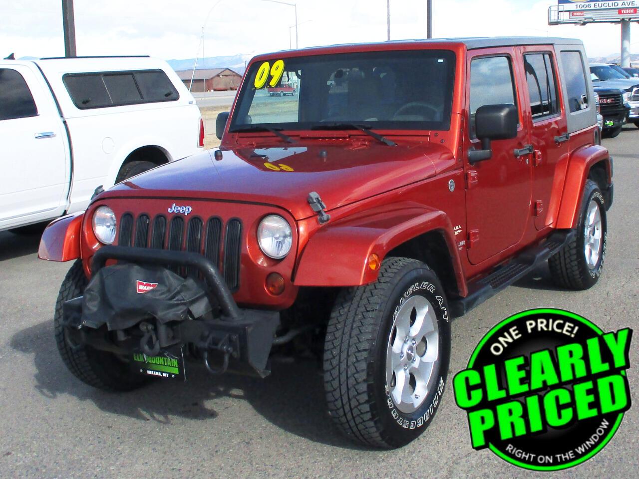 Jeep Wrangler Unlimited Sahara 4WD 2009