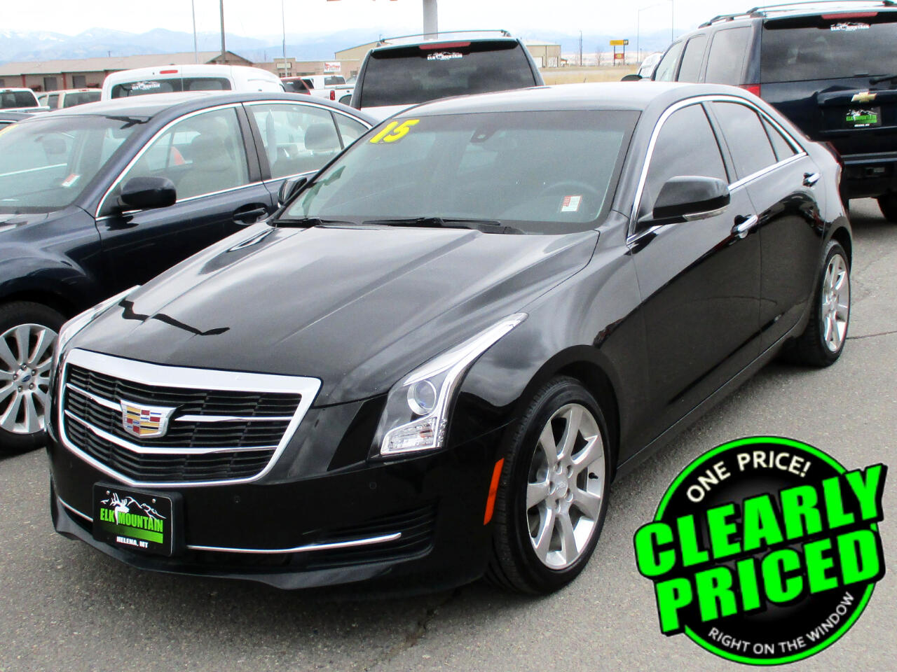 Cadillac ATS 2.0L Turbo Luxury RWD 2015