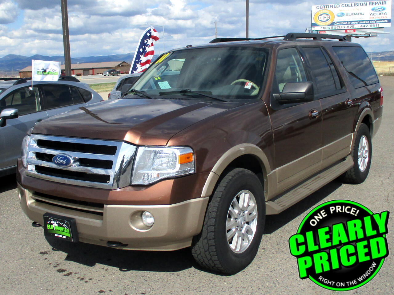 Ford Expedition EL King Ranch 4WD 2011