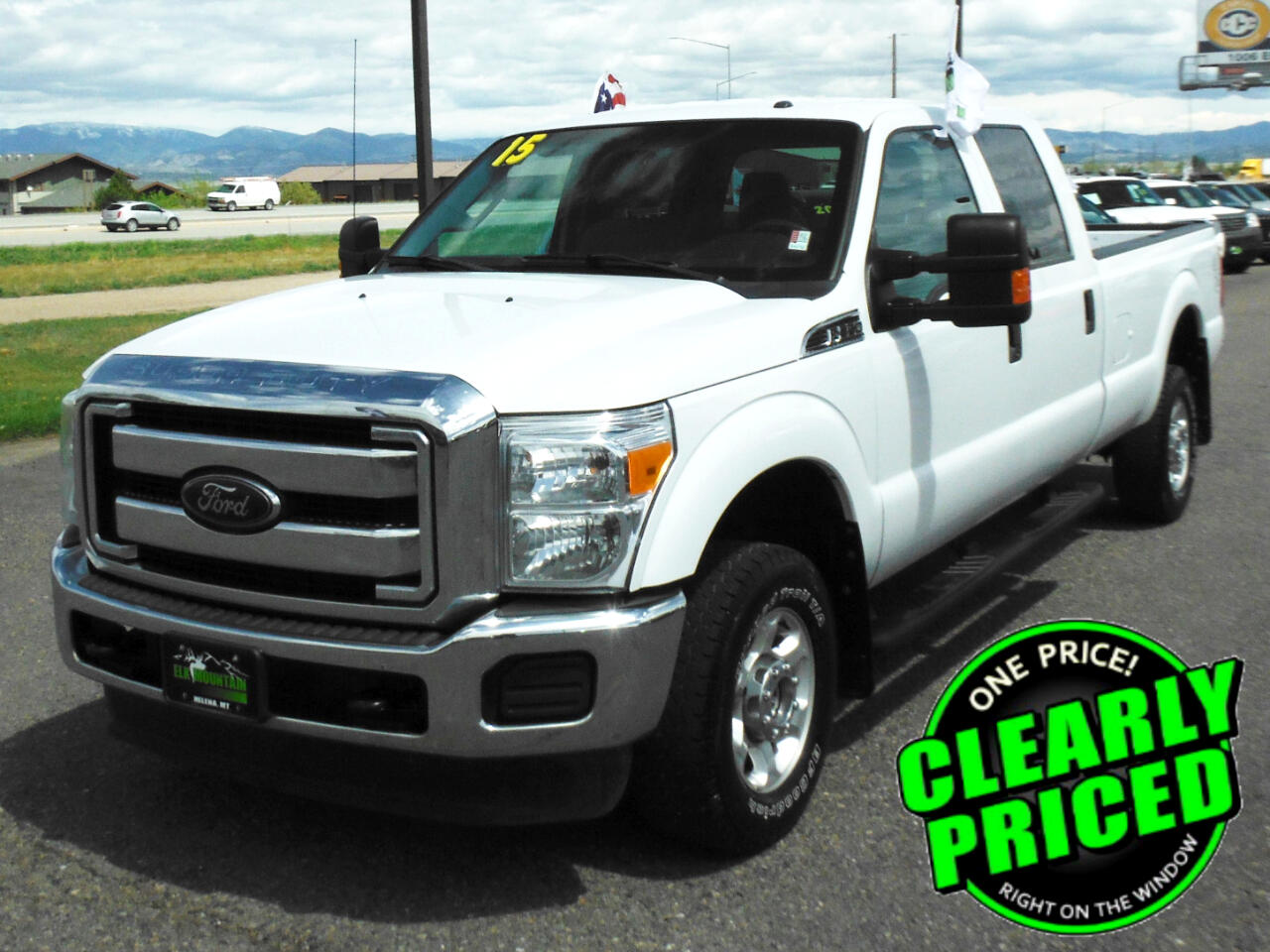 Ford F-350 SD King Ranch Crew Cab Long Bed 4WD 2015