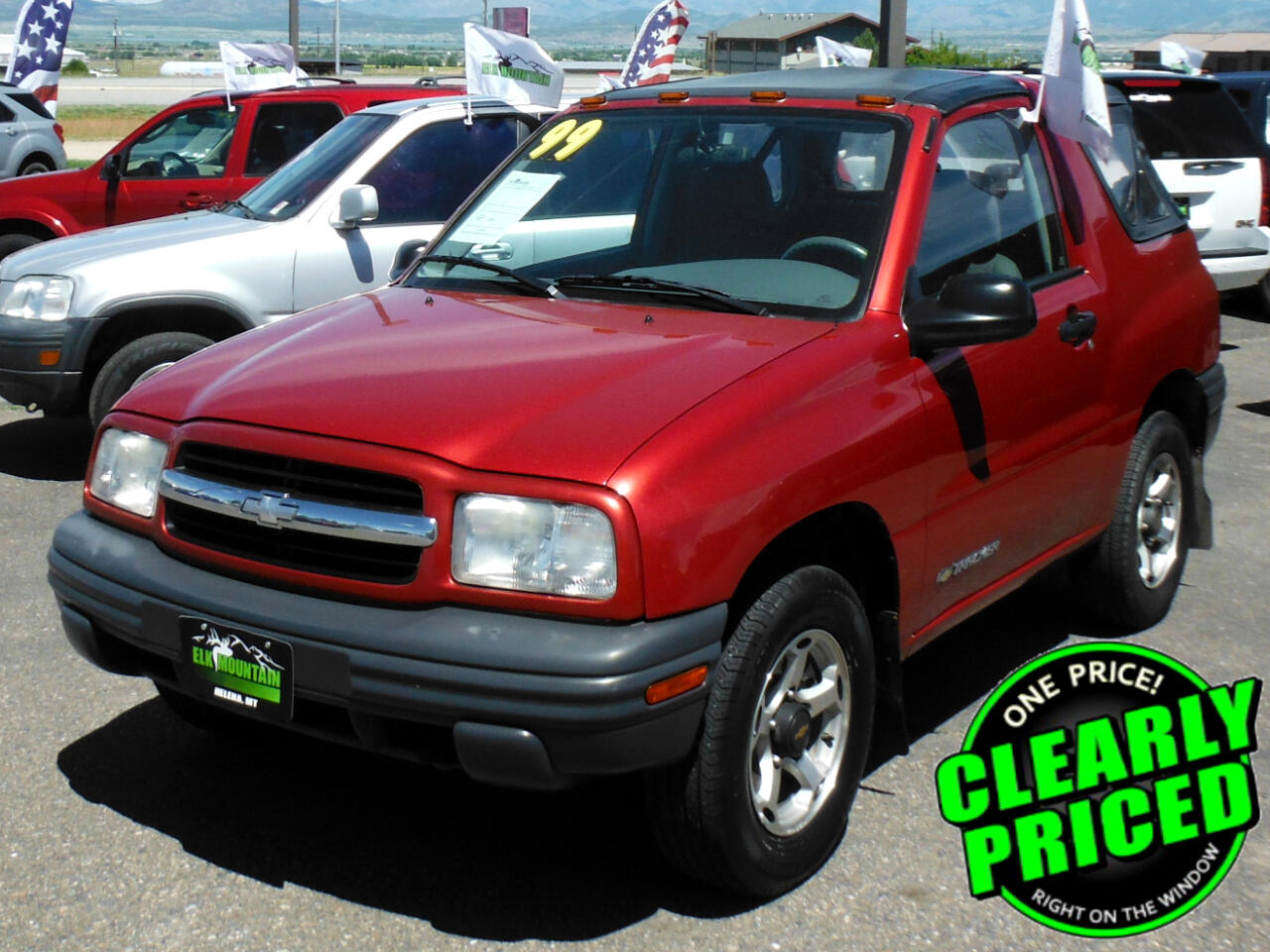 Chevrolet Tracker 2-Door 4WD 1999
