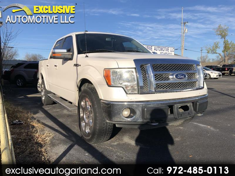 Ford F150 XL SuperCrew 5.5-ft. Bed 4WD 2010