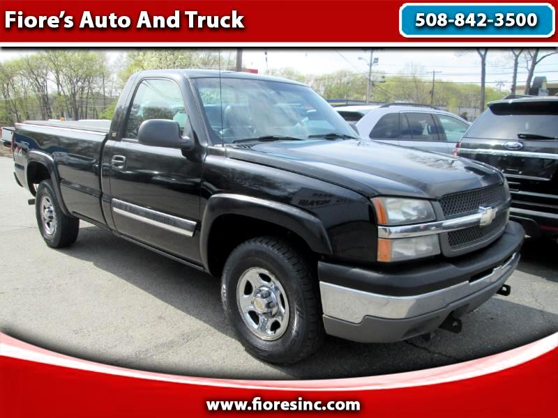 2004 Chevrolet Silverado 1500 1LT Regular Cab Long Box 4WD