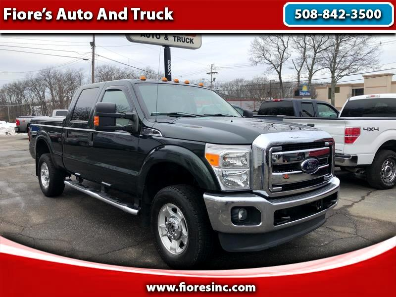 2012 Ford Super Duty F-350 SRW XLT 4WD Crew Cab Short Bed Pickup