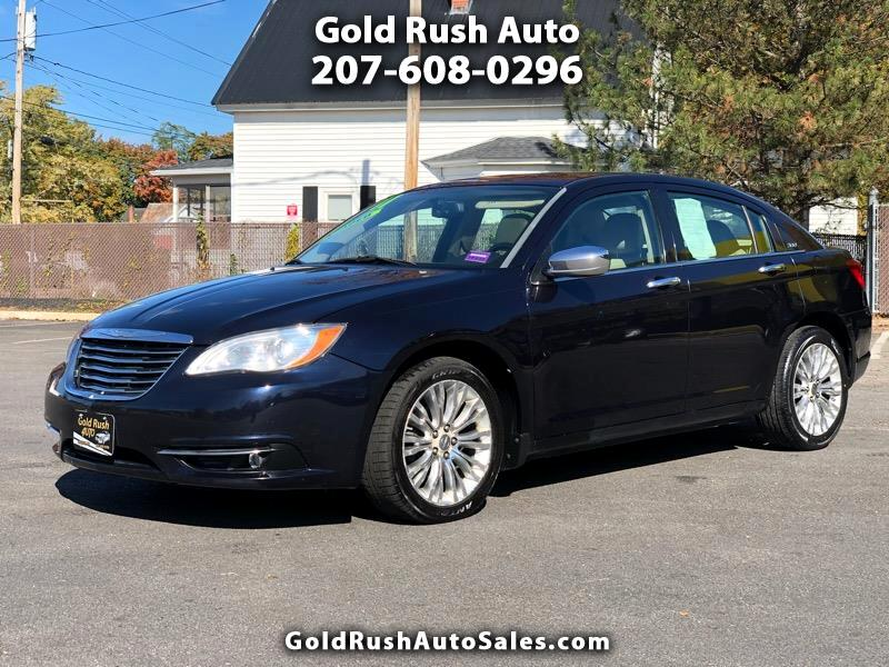 Chrysler 200 4dr Sdn Limited FWD 2011