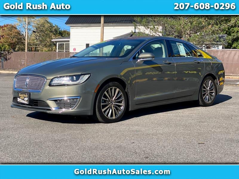 Lincoln MKZ Select AWD 2017