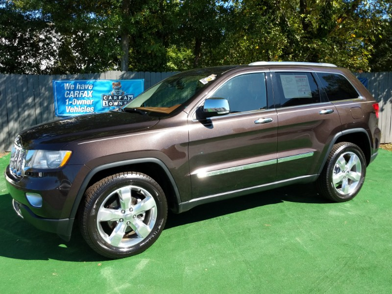 Jeep Grand Cherokee Overland 2WD 2012