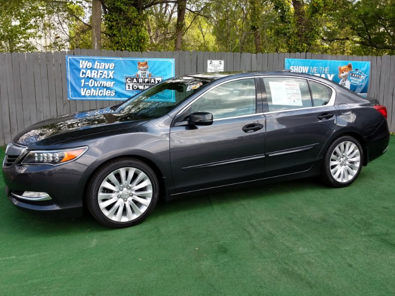 Acura RLX 6-Spd AT w/Advance Package 2014