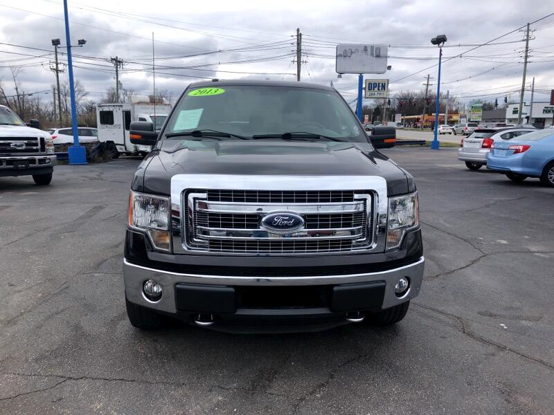 Ford F-150 SuperCrew XLT SuperCrew 6.5-ft. Bed 4WD 2013