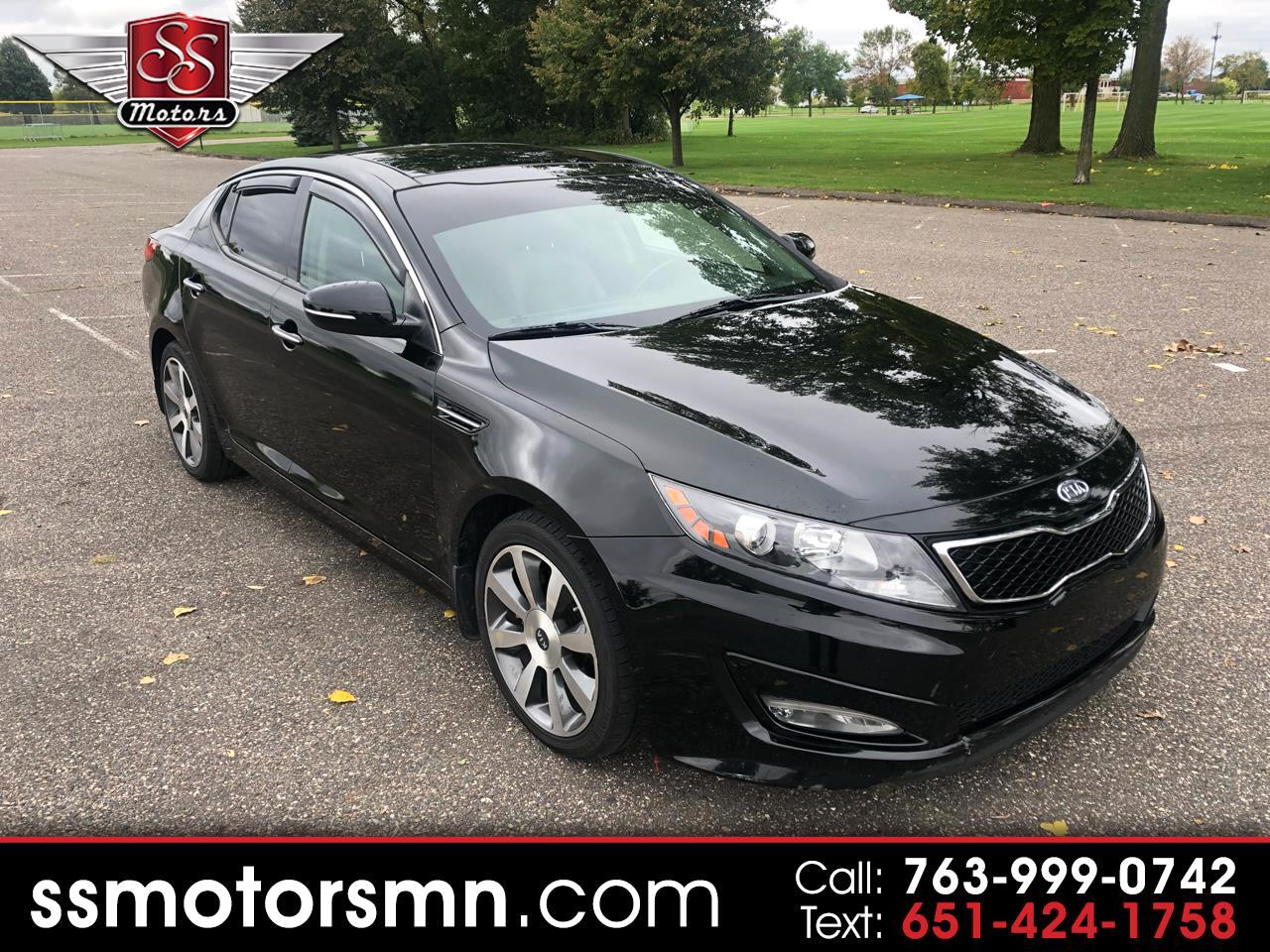 2011 Kia Optima 4dr Sdn SX Turbo