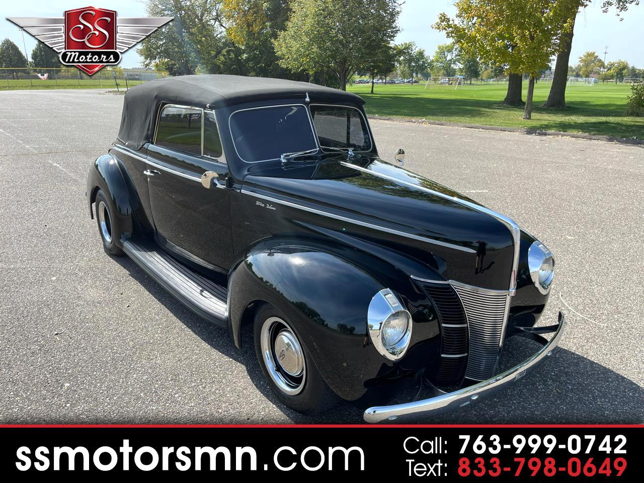 Ford Convertible Base 1940