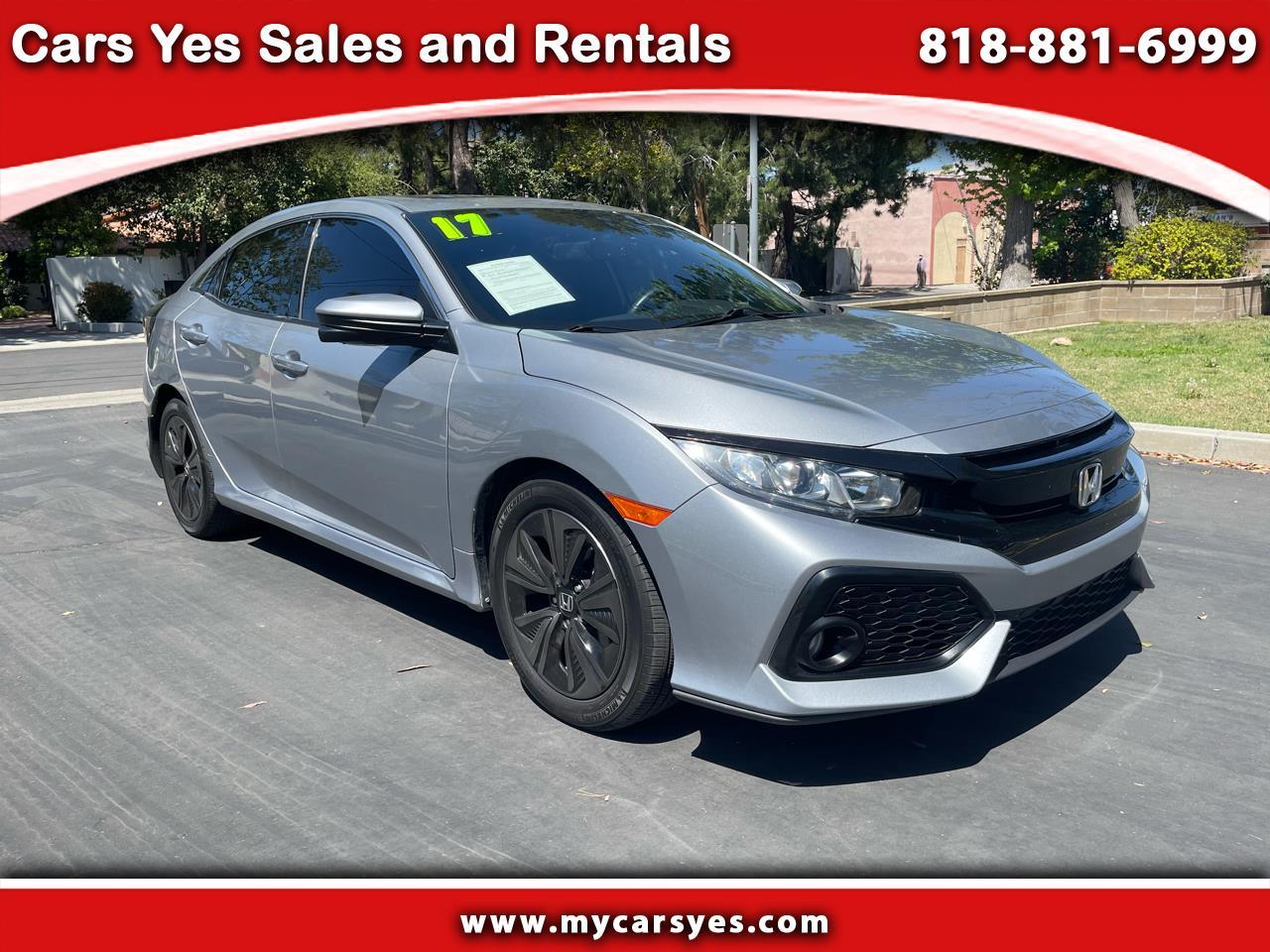Honda Civic EX-L w/ Navigation 2017