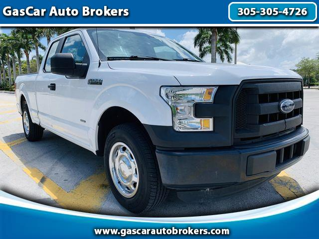 2015 Ford F-150 SuperCrew XL SuperCab 8-ft. 2WD