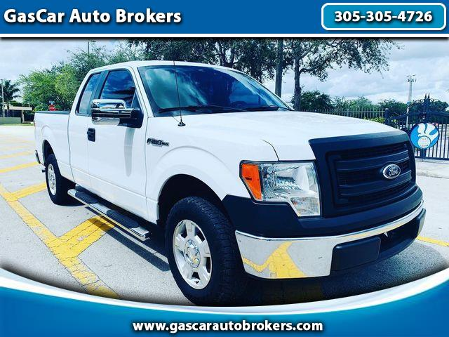 2013 Ford F-150 SuperCrew XL SuperCab 6.5-ft. Bed 2WD