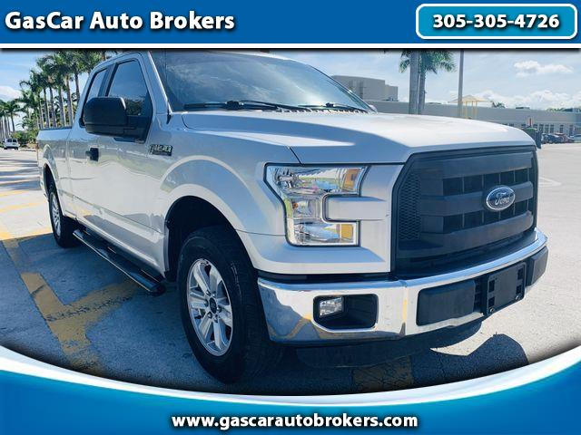 2016 Ford F-150 SuperCrew XL SuperCab 8-ft. 2WD