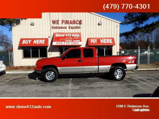 Chevrolet Silverado 1500 Work Truck Ext. Cab 4WD 2006