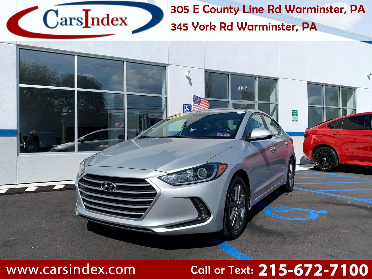 Hyundai Elantra Value Edition 2.0L Auto (Alabama) 2017