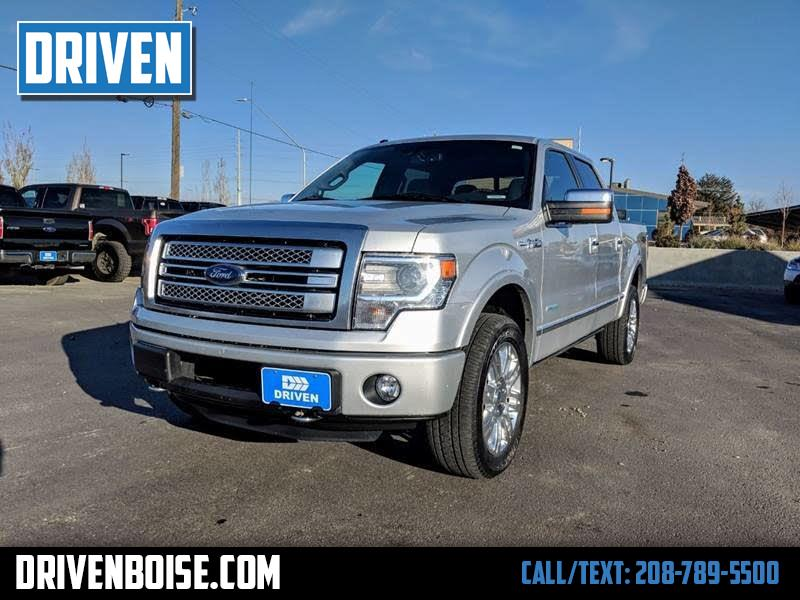 "2013 Ford F-150 4WD SuperCrew 157"" Platinum"