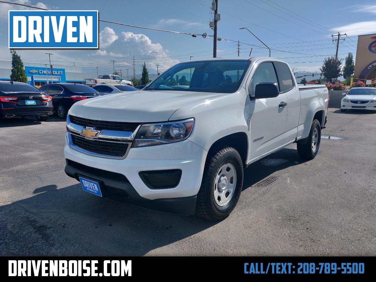 2016 Chevrolet Colorado Work Truck Ext. Cab 4WD