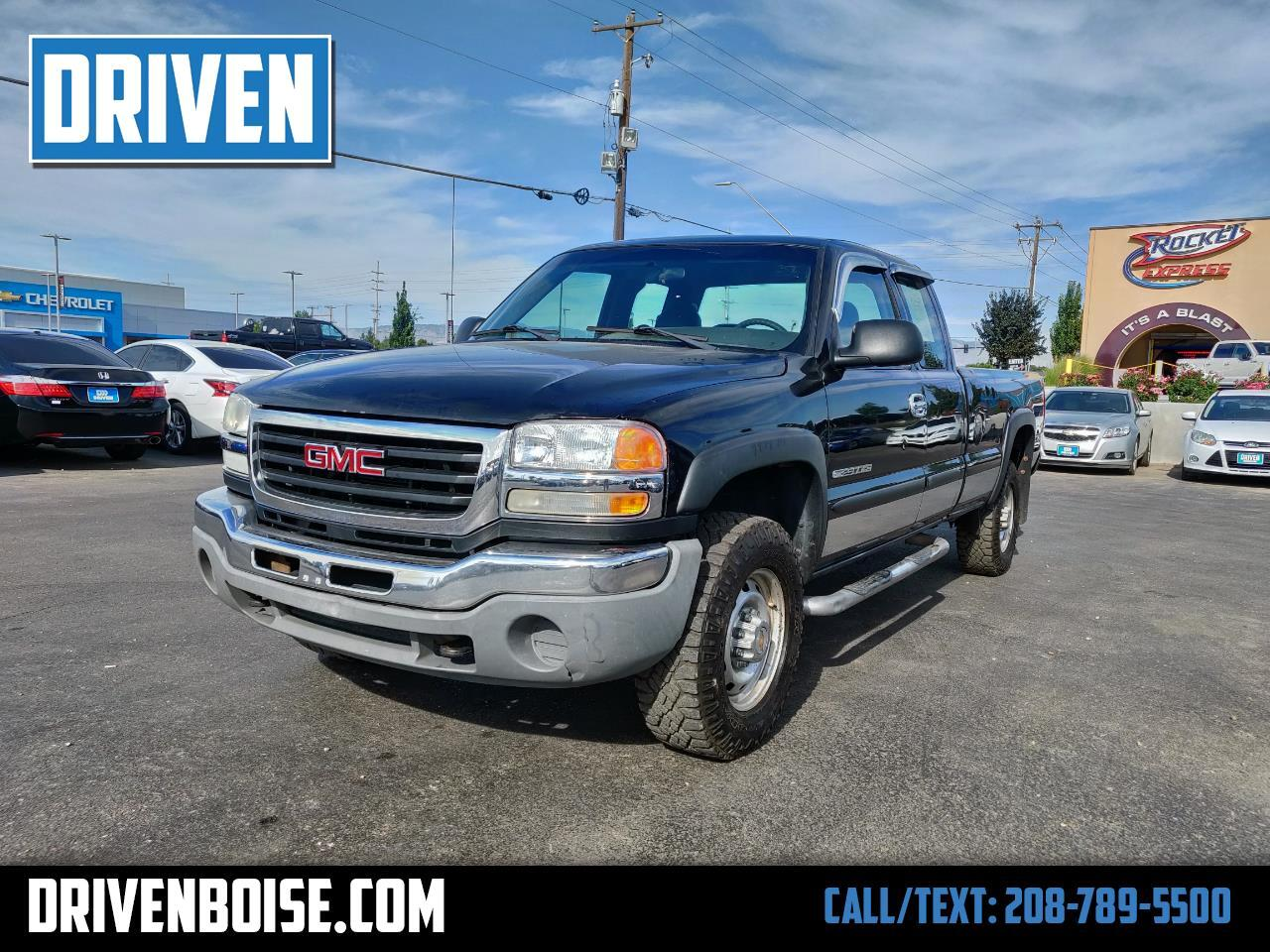 2003 GMC Sierra 2500HD Ext. Cab Long Bed 4WD