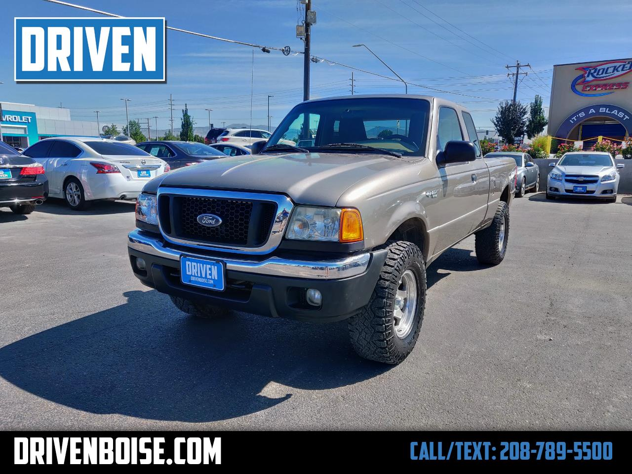 2005 Ford Ranger XLT SuperCab 2-Door 4WD