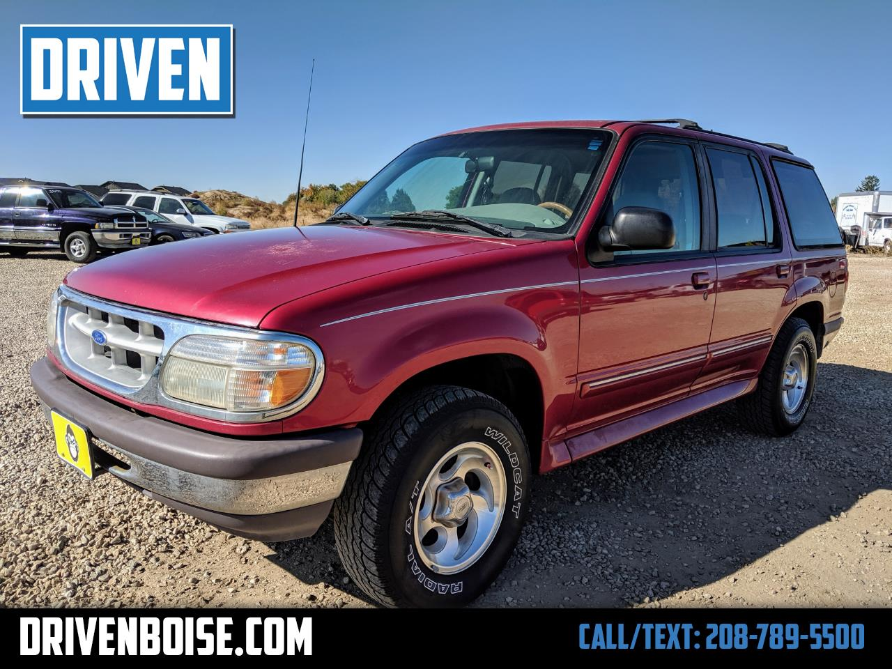 1996 Ford Explorer XL 4-Door 4WD