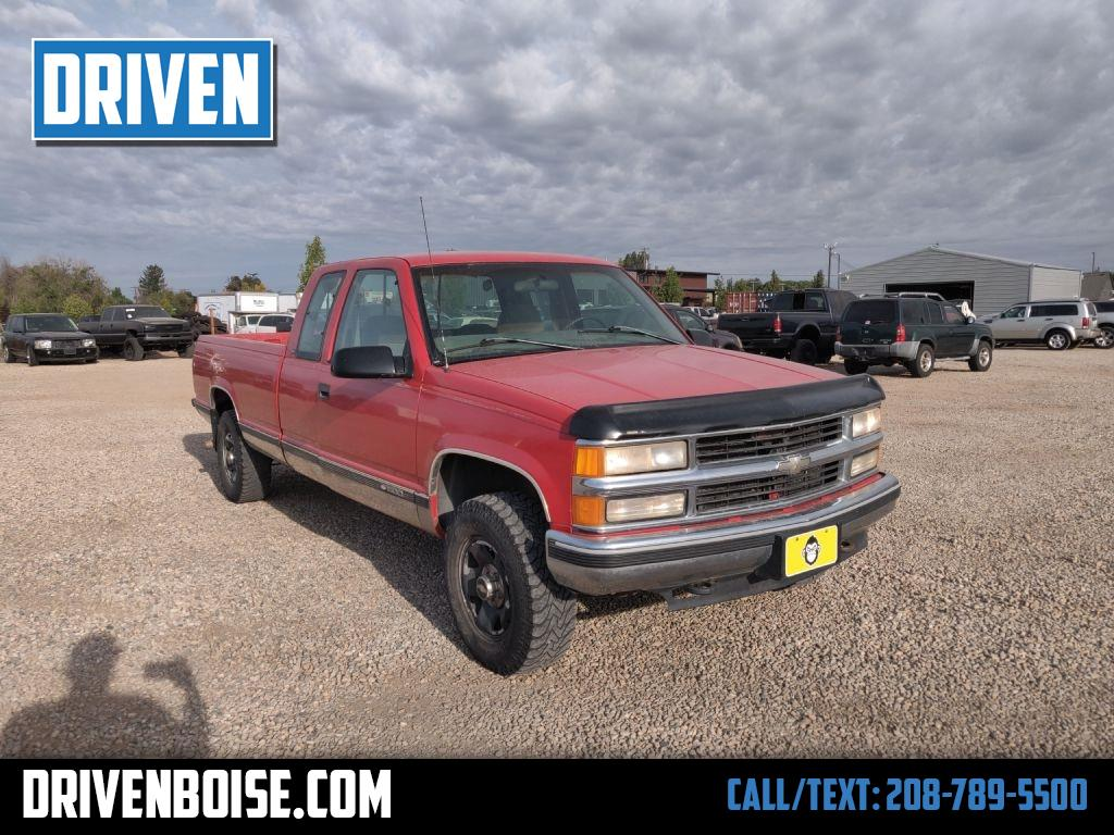 Used 1997 Chevrolet C K 1500 Ext Cab 6 5 Ft Bed 4wd For Sale In Boise Id 83713 Driven