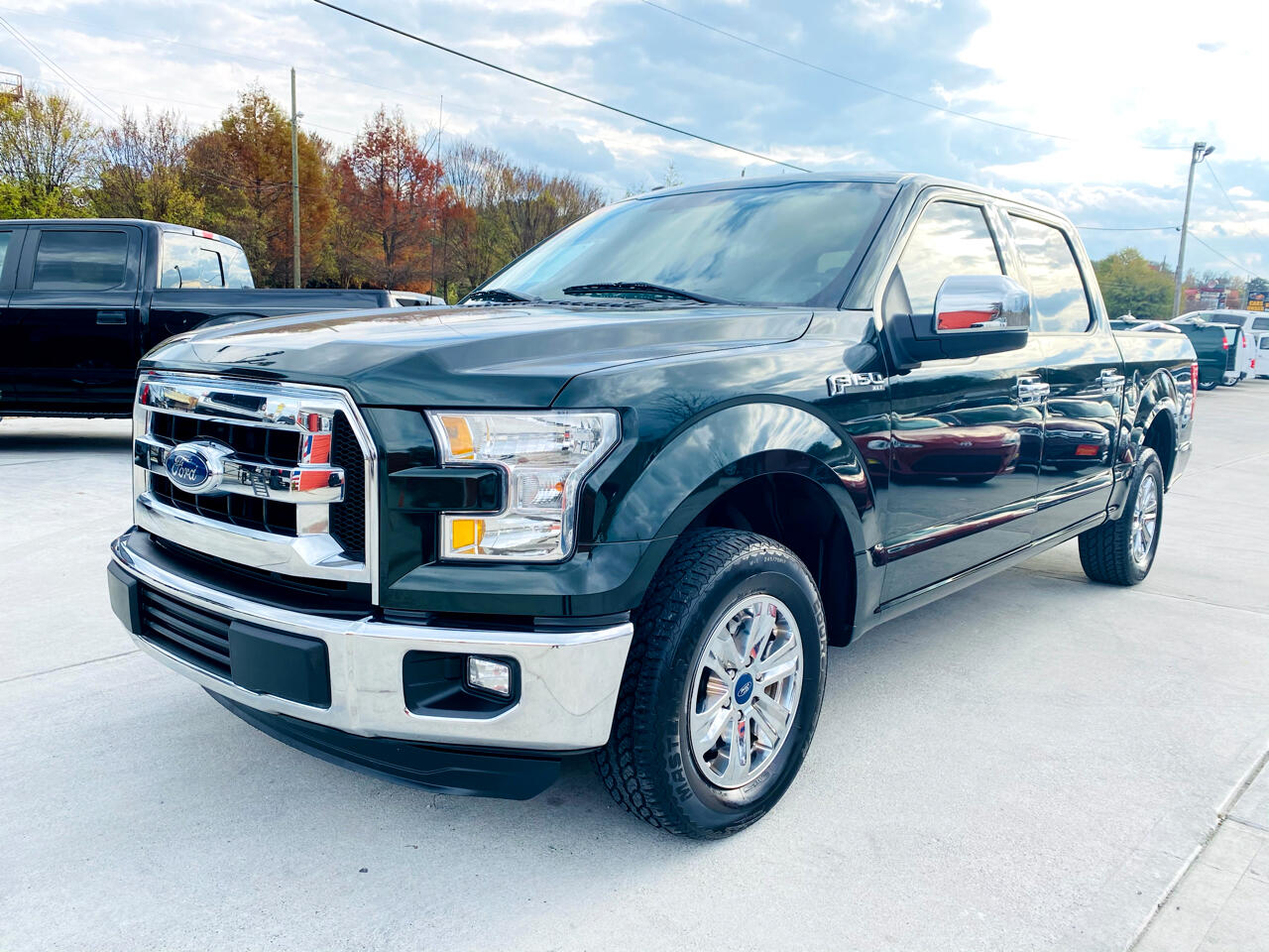 "Ford F-150 2WD SuperCrew 145"" XL 2016"