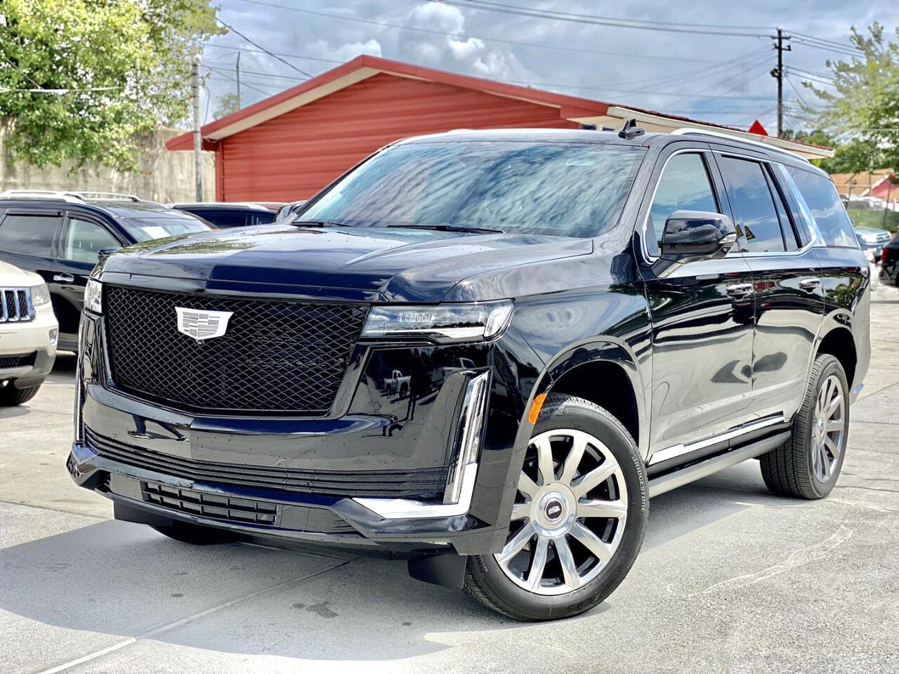 Cadillac Escalade 4WD 4dr Premium Luxury Platinum 2021