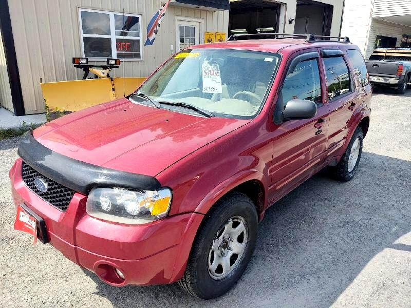 used 2007 ford escape limited 4wd for sale in waterville me 04901 elm city auto company elm city auto company