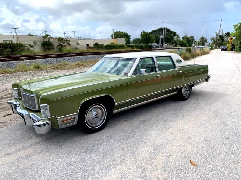 1975 Lincoln Continental 4dr Sdn