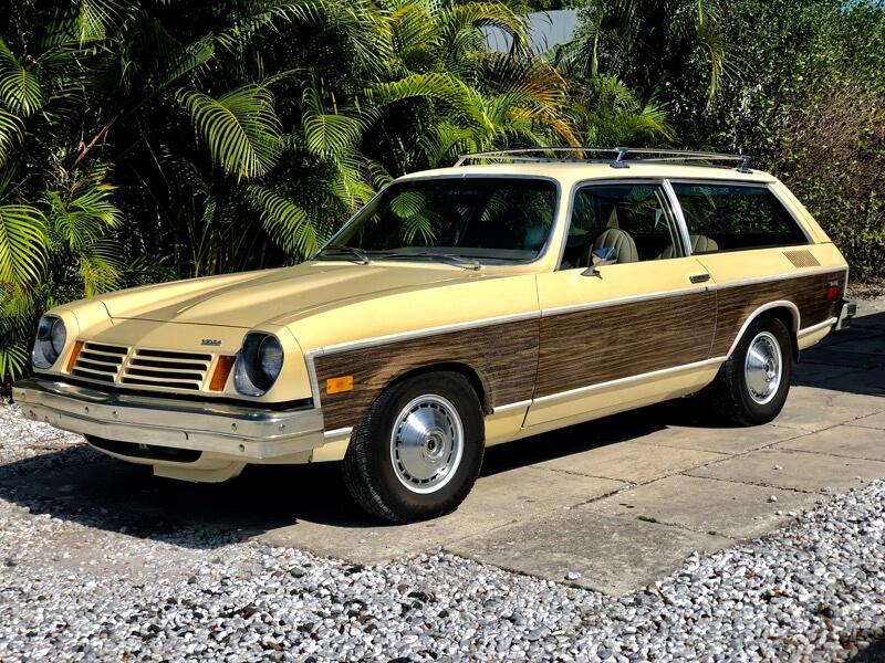 1974 Chevrolet Vega 4 door woody