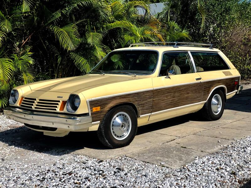 1974 Chevrolet Vega 4 door woody