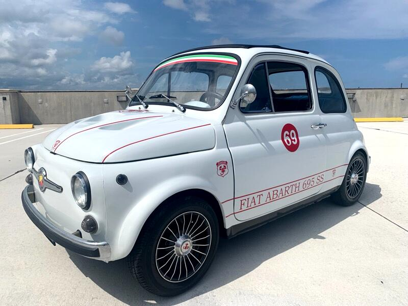 1969 Fiat 500 Abarth Cabrio