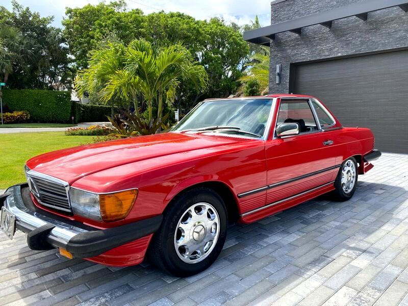Mercedes-Benz 560 SL 1986