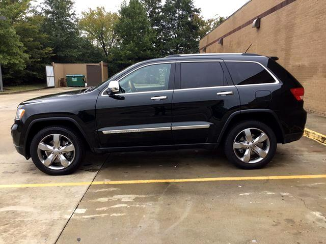 2013 Jeep Grand Cherokee Overland Summit Sport Utility 4D