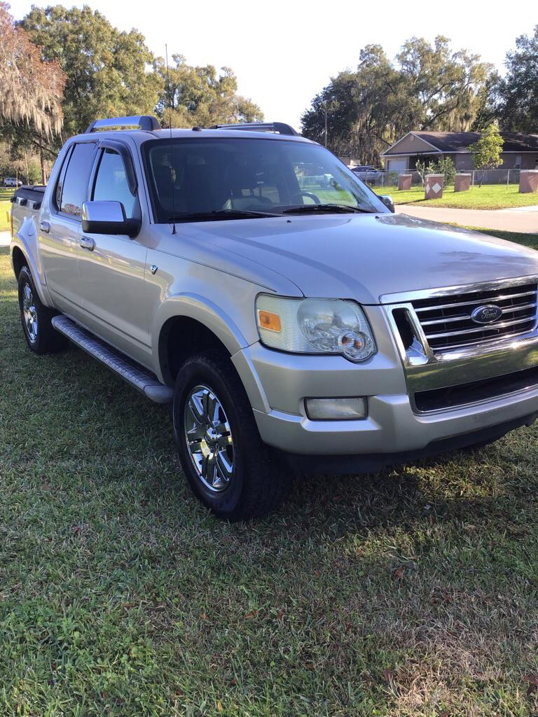 Ford Explorer Sport Trac Limited 4.6L 2WD 2007