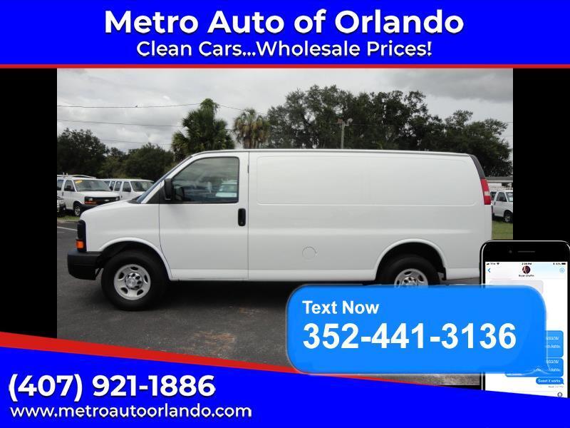 2015 Chevrolet G2500 2500 Cargo FFV