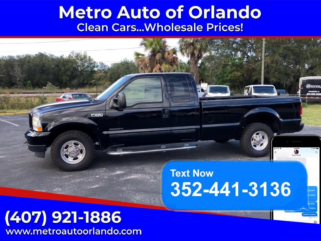 Ford F-250 SD XLT SuperCab Long Bed 2WD 2002