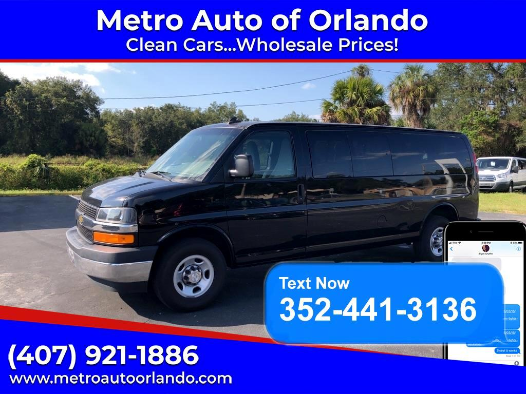 "Chevrolet Express Passenger RWD 3500 155"" 1LT 2018"