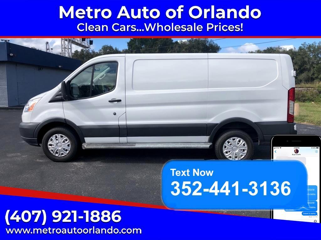 "Ford Transit Van T-250 130"" Low Rf 9000 GVWR Sliding RH Dr 2018"